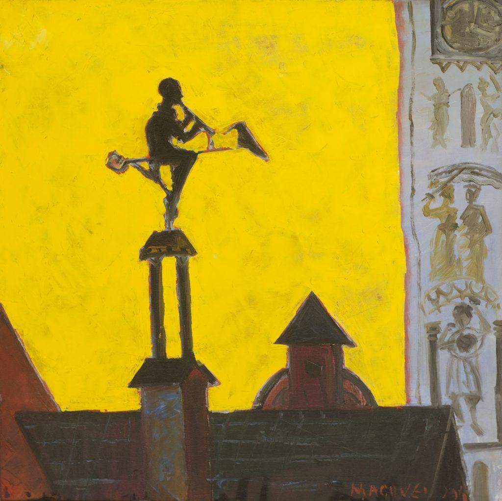 pictor Dumitru Macovei, Cantaretul Singuratic